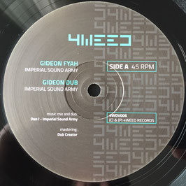 "IMPERIAL SOUND ARMY - Gideon Fyah (4Weed 12"")"