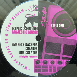 "EMPRESS RASHEDA, CHANTER, IDREN NATURAL, CULT.FREEMAN - Can't Go A Zion (King Shiloh 12"")"