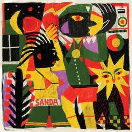 "SANDRA - African / Lockdown (Dubquake 10"")"