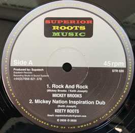 "MIKE BROOKS - Rock and Rock / ROBERT DALLAS - Children of Creation (Superior Roots 12"")"