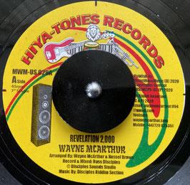 "WAYNE McARTHUR - Revelation 2000 (Hiya-Tones 7"")"