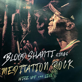 BLOOD SHANTI sings Meditation Rock (Falasha/Aba Shanti-I LP)