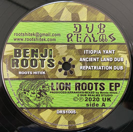 "BENJI ROOTS - Lion Roots EP (Dub Realms 12"")"