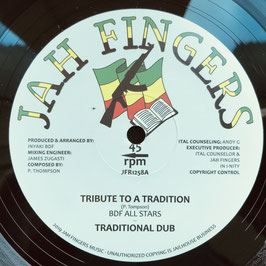 "BDF ALL STARS - Tribute To A Tradition (Jah Fingers 12"")"