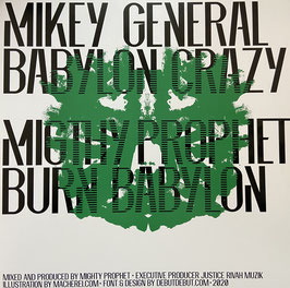 "MIKEY GENERAL - Babylon Crazy (Justice Rivah 12"")"