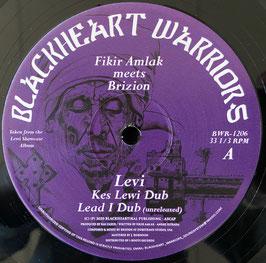 """FIKIR AMLAK meets BRIZION - Levi / Fasting & Prayer (Blackheart Warriors 12"""")"""