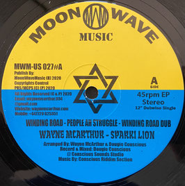 "WAYNE McARTHUR, SPAKKI LION - Winding Road (Moonshine 12"")"