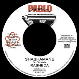 """RASHEDA - Shashamane (Pablo Int'l 7"""")"""