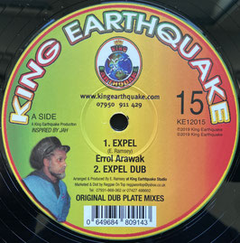 "ERROL ARAWAK - Expel / Mexican (King Earthquake 10"")"