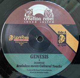 "BRAINLESS meets CULTURAL YOUTHS - Genesis (Creation Rebel 12"")"