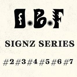 "O.B.F.  SIGNZ  SERIES #2 #3 #4 #5 #6 #7  (Dubquake 1x7"" & 5x12"")"
