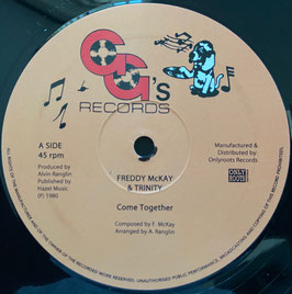 "FREDDY McKAY & TRINITY - Come Together (GG's 12"")"