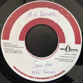 """MIKE BROOKS - Sensi Man (King Rock 7"""")"""