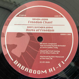 "RAMON JUDAH - Freedom Chant / Freedom Rock (Bababoom Hi-Fi 12"")"