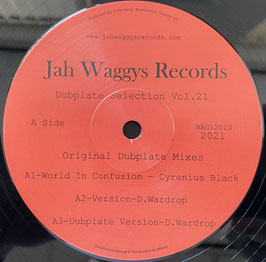 """CYRENIUS BLACK - World Of Confusion (Jah Waggys 12"""")"""