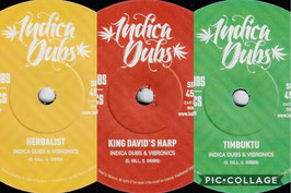 """INDICA DUBS meets VIBRONICS - Dubwise Series (3x7"""")"""