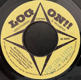 "MARTIN CAMPBELL - Stop Look Listen (Log On 7"")"