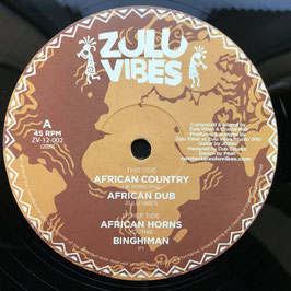 "UK PRINCIPAL - African Country (Zulu Vibes 12"")"