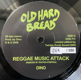 "DINO - Reggae Music Attack (Old Hard Bread 7"")"