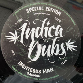"DANMAN - Righteous Man (Indica Dubs 10"")"