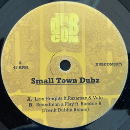 "RAZAMAN & VALE - Lion Heights (Dubcom 7"")"
