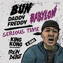 "DADDY FREDDY, KING KONG - Bun Babylon (Evidence 12"")"