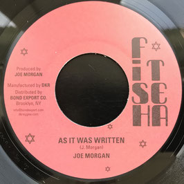 "JOE MORGAN - As It Was Written (Fish Tea 7"")"