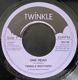 "TWINKLE BROTHERS - One Head (Twinkle 7"")"