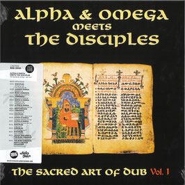 ALPHA & OMEGA meets DISCIPLES - The Sacred Art of Dub Vol. 1 (Mania LP)