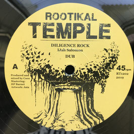"IJAH SALOMON - Diligence Rock (Rootikal Temple 12"")"