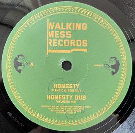 """ALPHA D & SERSHA R - Honesty (Walking Mess 12"""")"""