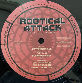 "KAZAM DAVIS - City Under Siege / STARF - Son Of Dragon (Rootical Attack 12"")"