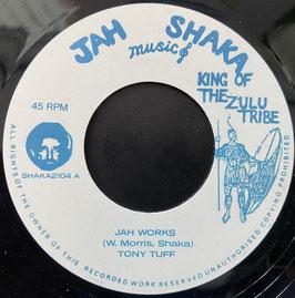 """TONY TUFF - Jah Works (Jah Shaka 7"""")"""