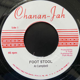 "AL CAMPBELL - Foot Stool (Chananjah 7"")"