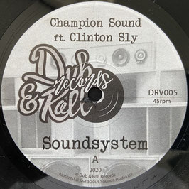"CLINTON SKY - Soundsystem (Dub & Roll 7"")"