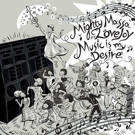 """MIGHTY MASSA - Music Is My Desire (Lion's Den 12"""")"""