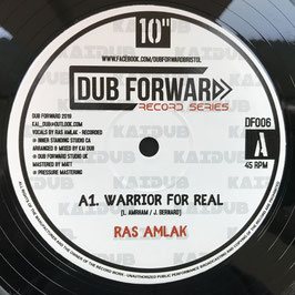 """RAS AMLAK - Warrior For Real (Dub Forward 10"""")"""