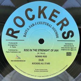 "NORRIS REID - Rise In The Strength Of Jah (Rockers 12"")"
