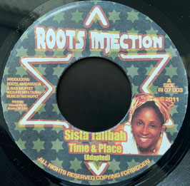"SISTA TALIBAH - Time & Place (Roots Injection 7"")"
