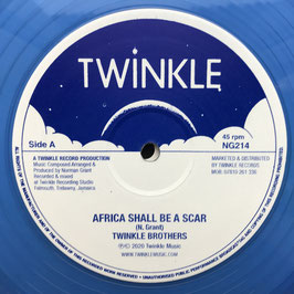 "TWINKLE BROTHERS - Africa Shall Be A Scar (Twinkle 12"")"