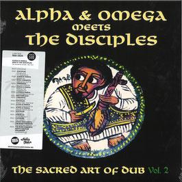 ALPHA & OMEGA meets DISCIPLES - The Sacred Art of Dub Vol. 2 (Mania LP)