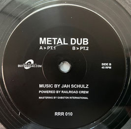 "JAH SCHULZ - Mental Dub (Railroad 7"")"