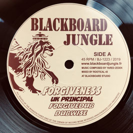 "UK PRINCIPAL - Forgiveness (Blackboard Jungle 12"")"