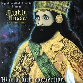 "MIGHTY MASSA ft V.A. - World Dub Connection (Nyahbinghidub 2x12"")"
