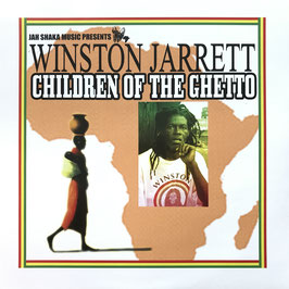 WINSTON JARRETT - Children Of The Ghetto (Jah Shaka LP)