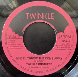"""TWINKLE BROTHERS - Since I Throw The Comb Away (Twinkle 7"""")"""