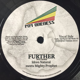 "IDREN NATURAL meets MIGHTY PROPHET - Further (Akashic / InI Oneness 7"")"