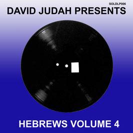 DAVID JUDAH presents Hebrews Volume 4 (Solardub LP)