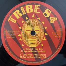"AWA FALL, GURU POPE  - Run Dem (Tribe 84 12"")"