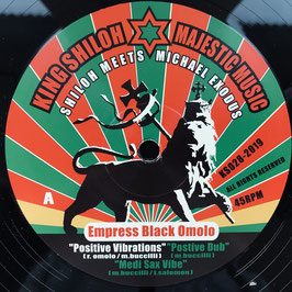 "BLACK OMOLO - Positive Vibrations (King Shiloh 12"")"